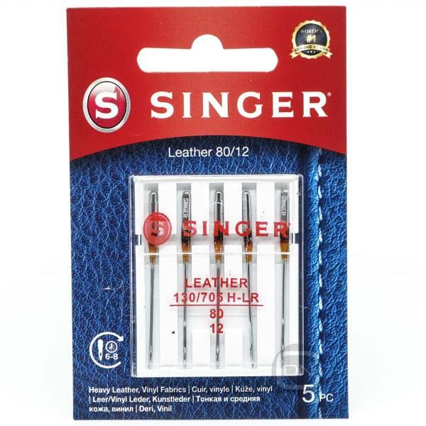 Leder Nadel Stärke 80 5er Pack SINGER
