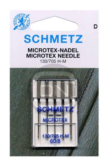 Microtex Nadel Stärke 60, 5er Pack (Schmetz)