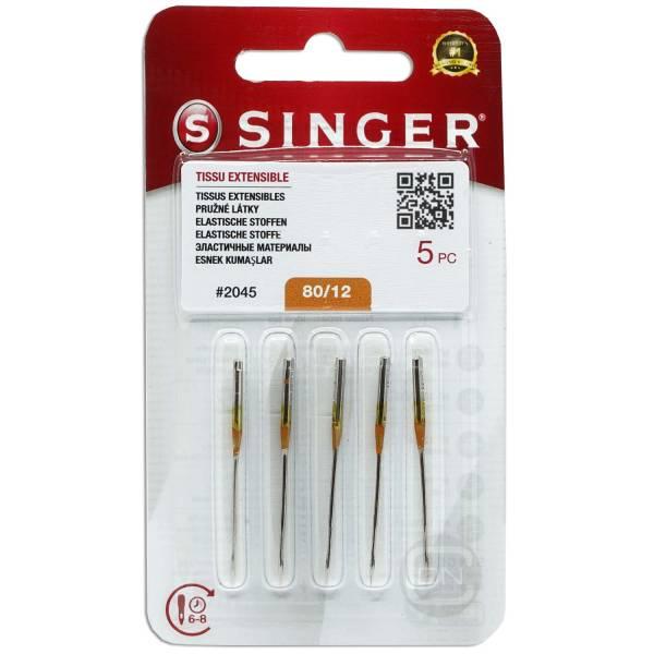 Stretch Nadel Stärke 80 5er Pack SINGER
