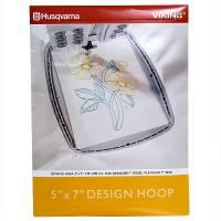 Design Hoop 130 x 180 mm (Husqvarna Designer, Platinum)
