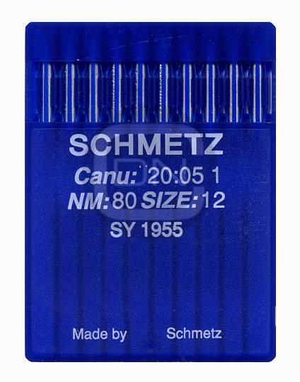 Nadel System SY 1955 Stärke 80 10er Pack Schmetz