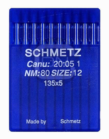 Nadel System 135x5 Stärke 80 10er Pack Schmetz