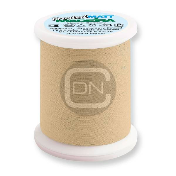 Madeira Frosted Matt No.40 Farbe 7885 sand 500m