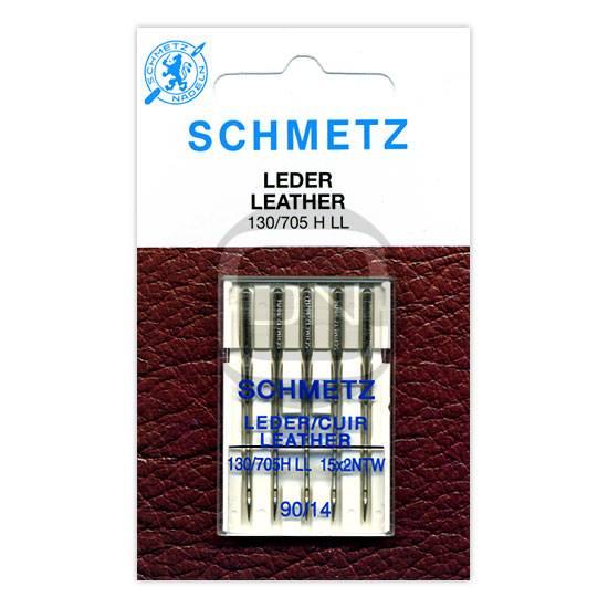 Ledernadel Stärke 90, 5er Pack (Schmetz)