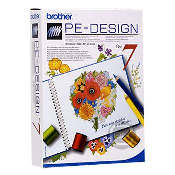Brother PE-Designer 7.0 (Update von PE-Design 5/6) - (ARCHIV)