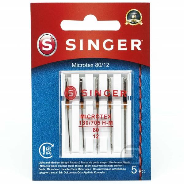 Microtex Nadel Stärke 80 5er Pack SINGER