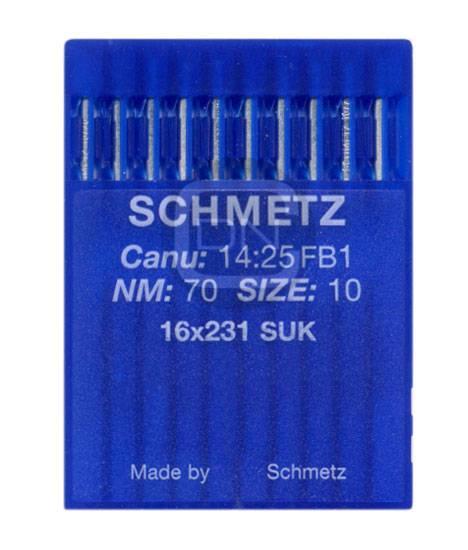 Nadel System 16x231 SUK, Stärke 70, 10er Pack - Schmetz