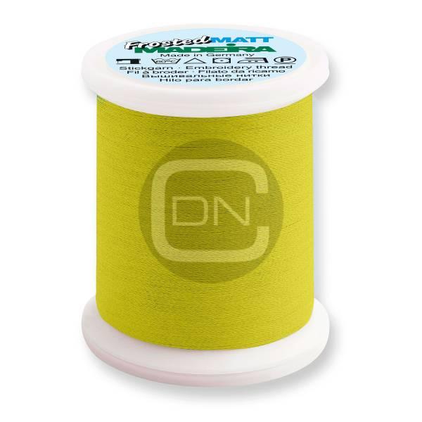 Madeira Frosted Matt No.40 Farbe 7823 neon lemon 500m