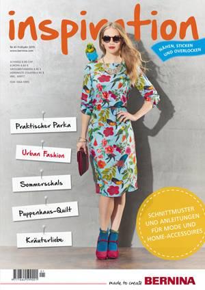 Bernina inspiration Nr. 61 / Magazin / Zeitschrift