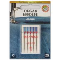 Jeans Nadel Stärke 90, 5er Pack (ORGAN)