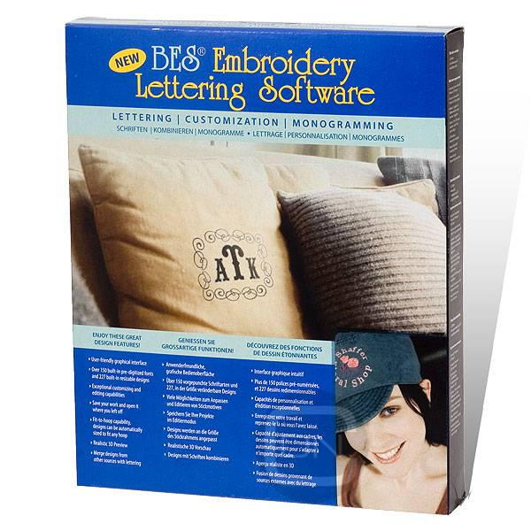Brother BES Embroidery Lettering Software - (ARCHIV)