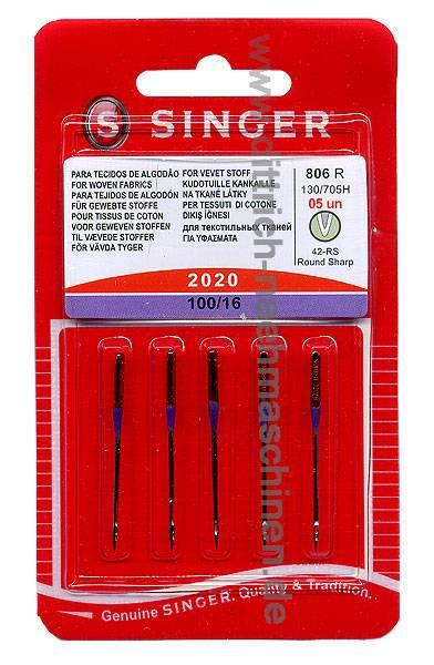 Universal Nadel Stärke 100 - 5er Pack SINGER