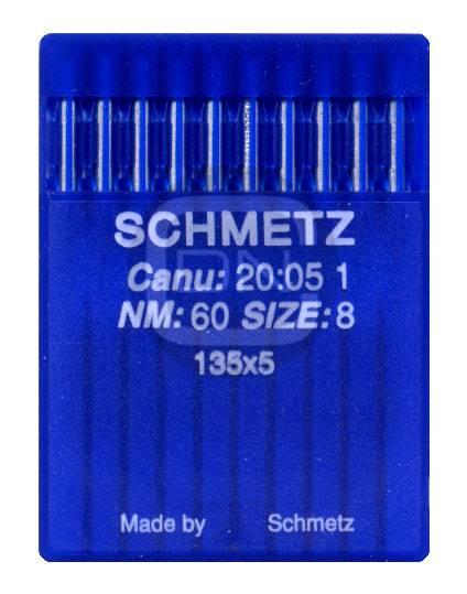 Nadel System 135x5 Stärke 60 10er Pack Schmetz