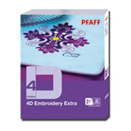 Pfaff creative 4D Embroidery Extra - (ARCHIV)