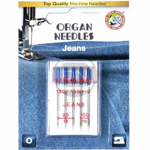 Jeans Nadel Stärke 90 100 5er Pack ORGAN