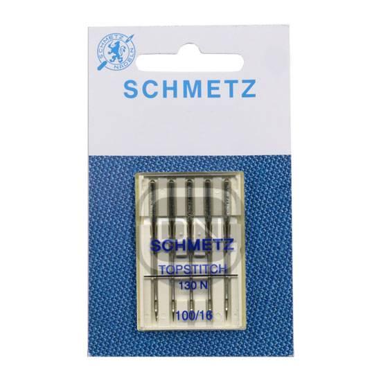 TOPSTITCH Nadel, Stärke 100, 5er Pack (Schmetz)