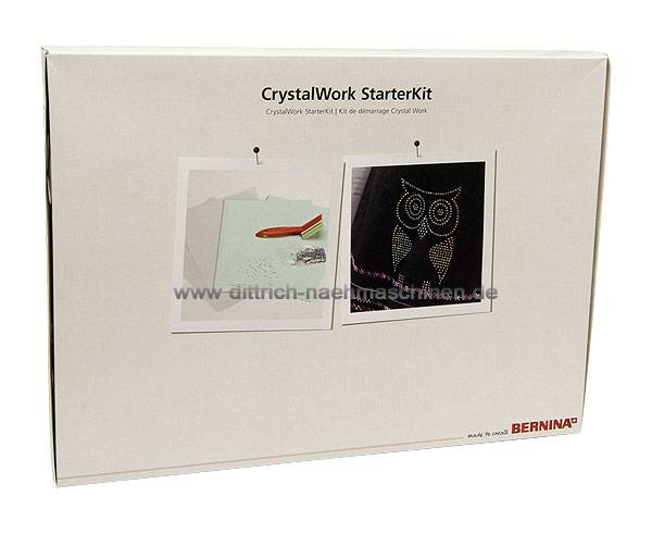 CrystalWork Starter Kit Bernina 560 570QE 580 750QE 770QE 780 790 830 880