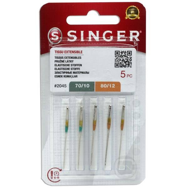 Stretch Nadel Sortiment Stärke 70 80 5er Pack SINGER