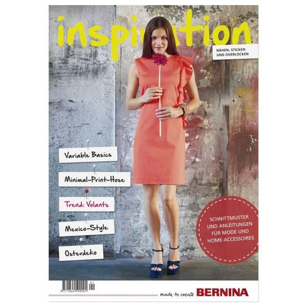 Bernina inspiration Nr. 67 Magazin Zeitschrift