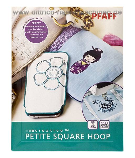 Petite Square Hoop 80 x 80 mm (Pfaff creative xx)