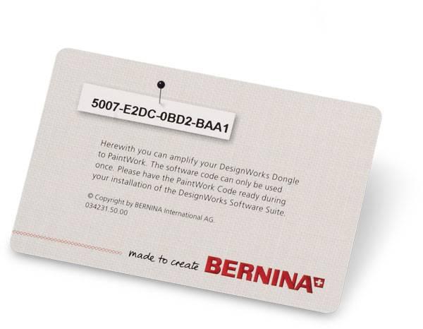 Bernina DesignWorks - PaintWork Aktivierungscode