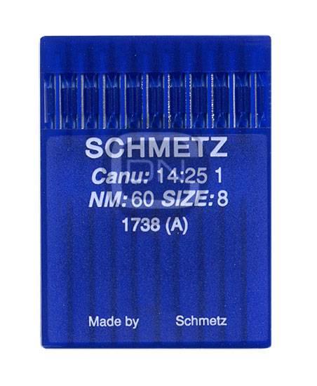Schmetz Nadel 1738 Stärke 60 (10er Pack)