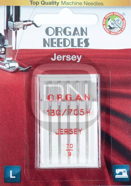 Jersey Nadel Stärke 70, 5er Pack (ORGAN)