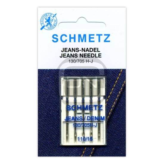Jeans Nadel Stärke 110, 5er Pack (Schmetz)