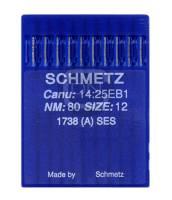 Nadel System 1738 (A) SES, Stärke 80, 10er Pack - Schmetz