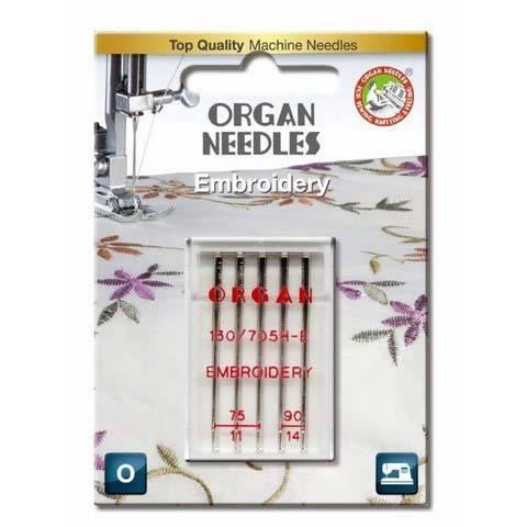 Sticknadel Stärke 75 90 5er Pack (ORGAN)