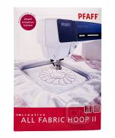 creative All Fabric Hoop II 150 x 150 mm (Pfaff creative xx)