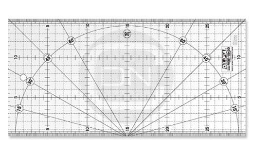 Quiltlineal 15 cm x 30 cm (OLFA)