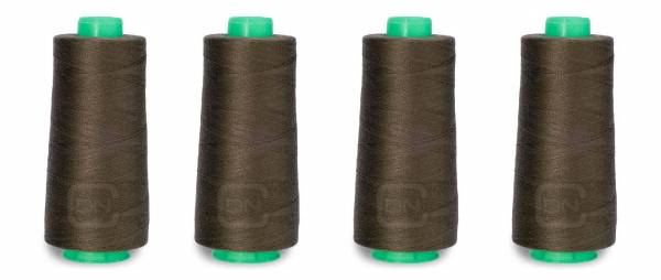 Overlockgarn 2500m Farbe oliv 100% Polyester