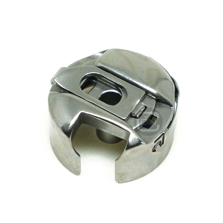 6 Metallspulen für Pfaff Nähmaschinen 285 Spulenkapsel 6 mm mit Umlaufgreifer