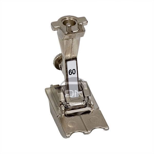 Bernina Doppelkordelfuß 8 mm Rillen 60 ALT