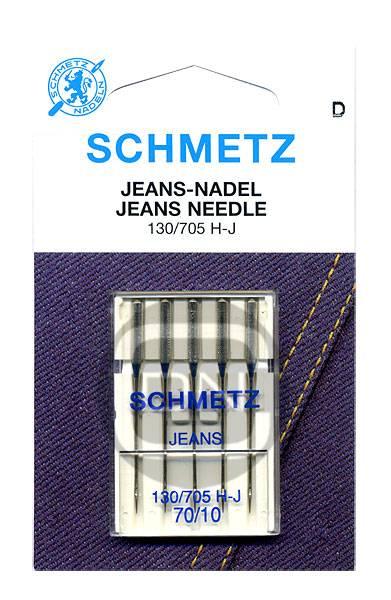 Jeans Nadel Stärke 70 5er Pack Schmetz