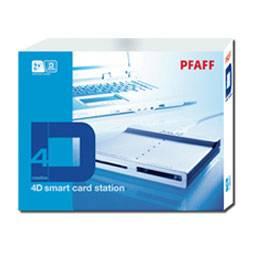 Pfaff creative 4D smart card Station
