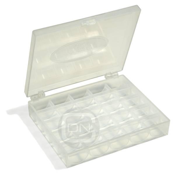 Spulenbox für 25 Spulen Sew Mate