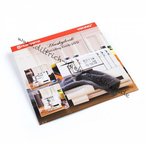Husqvarna Einfädel DVD (huskylock s15, s21, s25)