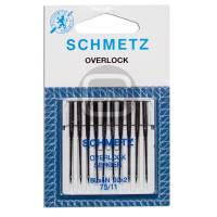 Overlock und Coverstich Nadel JLx2 Stärke 75 10er Pack Schmetz
