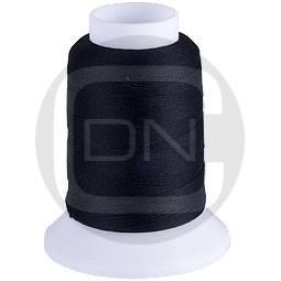 Woolly Nylon Bauschgarn extra dick schwarz 300m