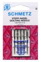 Quilt-Nadel Stärke 90, 5er Pack (Schmetz)