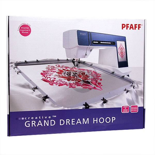 creative Grand Dream Hoop 360 x 350 mm (Pfaff creative xx)