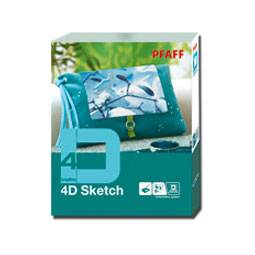 Pfaff creative 4D Sketch mit Dongle - (ARCHIV)