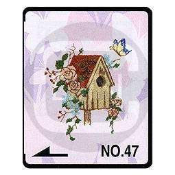 Brother Stickmotivkarte 47 - Schmetterlinge - (ARCHIV)
