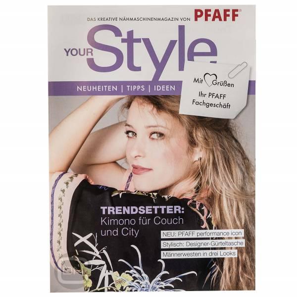 Pfaff YourStyle Magazin Mai 2018