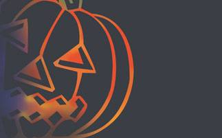 Pfaff Stickmotiv Card 329/81 Halloween