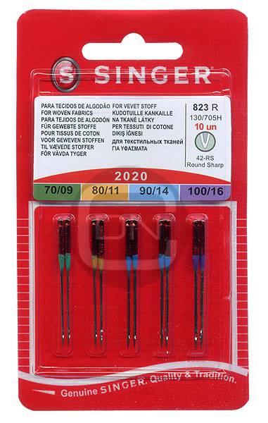 Universal Nadel Sortiment Stärke 70 80 90 100 - 10er Pack SINGER