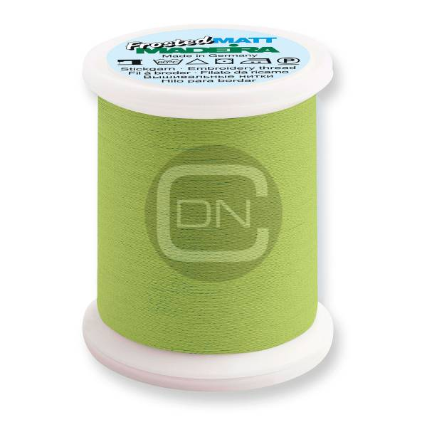 Madeira Frosted Matt No.40 Farbe 7950 neon lime 500m