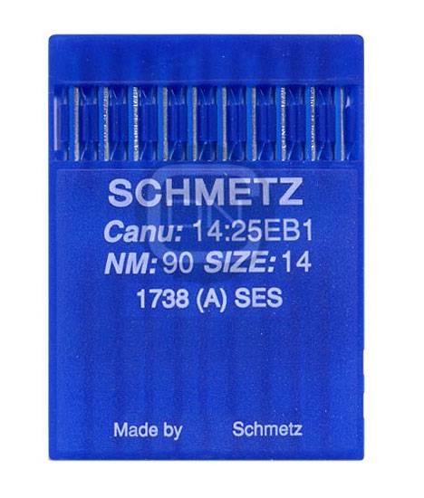 Nadel System 1738 (A) SES, Stärke 90, 10er Pack - Schmetz